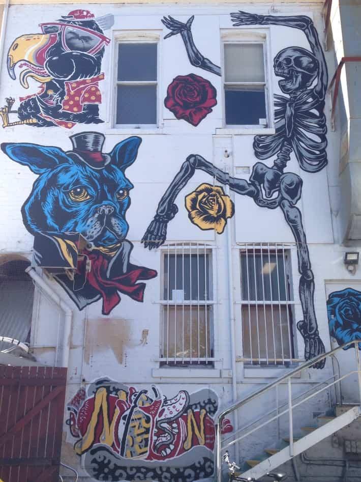 Streetart März 2016 in Australien, Fremantle