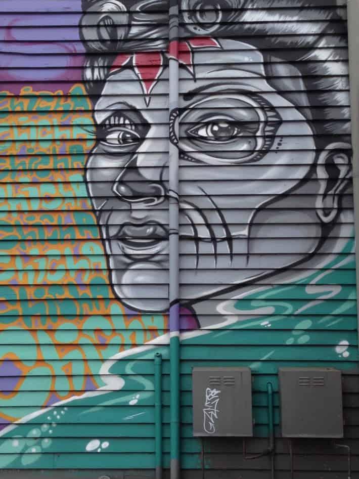Streetart März 2016 in Australien, Albany