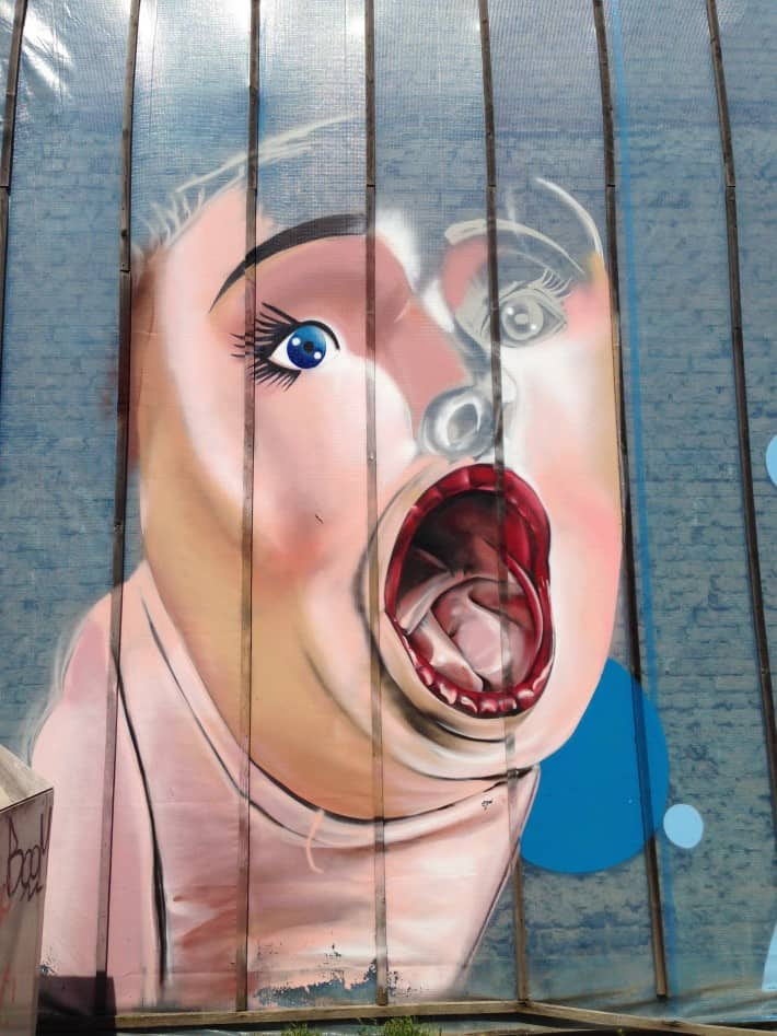 Streetart aus Mönchengladbach
