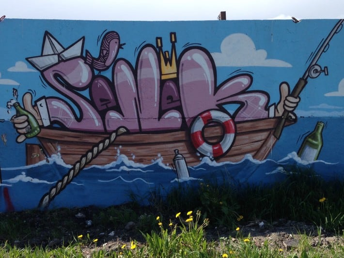 Streetart aus Greifswald