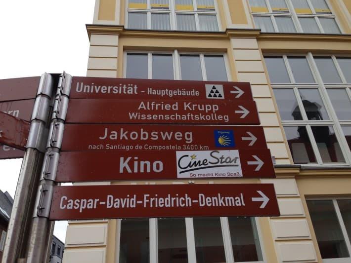 Wegweiser Greifswald