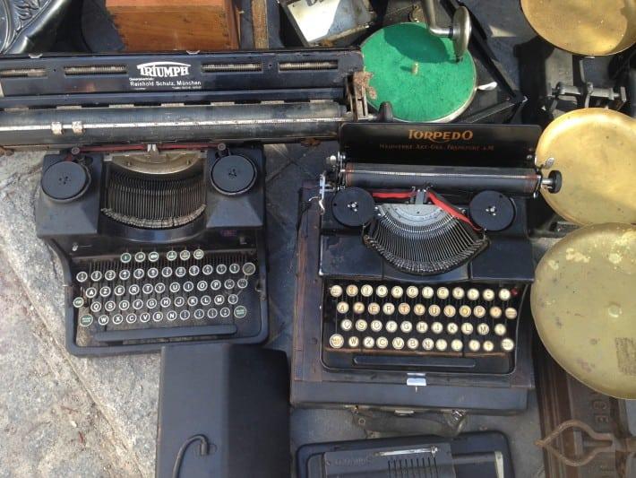 alte Schreibmaschinen El Rastro