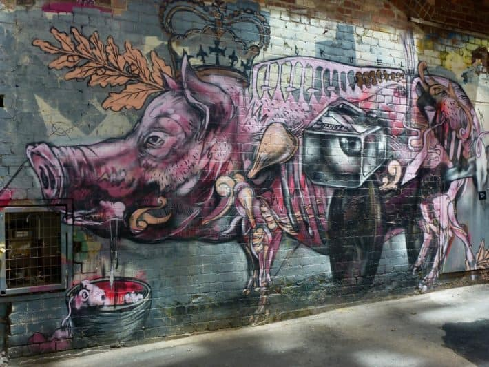 Streetart Melbourne