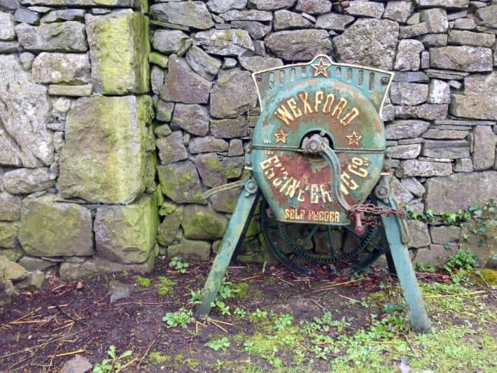 Exponat im Bunratty Folk Park