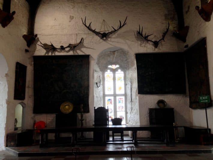 Saal über dem Bankettsaal im Bunratty Castle