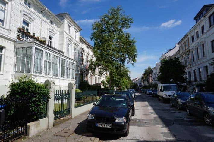 Das Viertel: Wunderschöne Gründerzeitbauten im Viertel