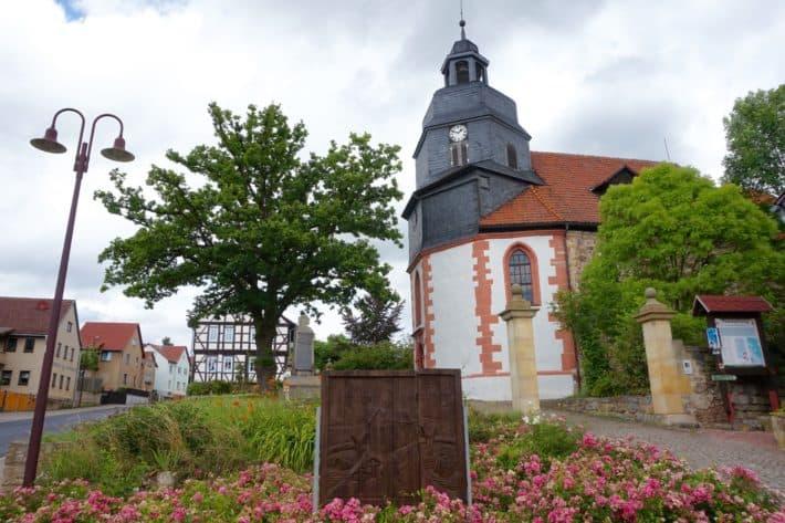 Pummpälzweg, Alt-Gumpelstadt, Kirche, Dorfkirche, Denkmal