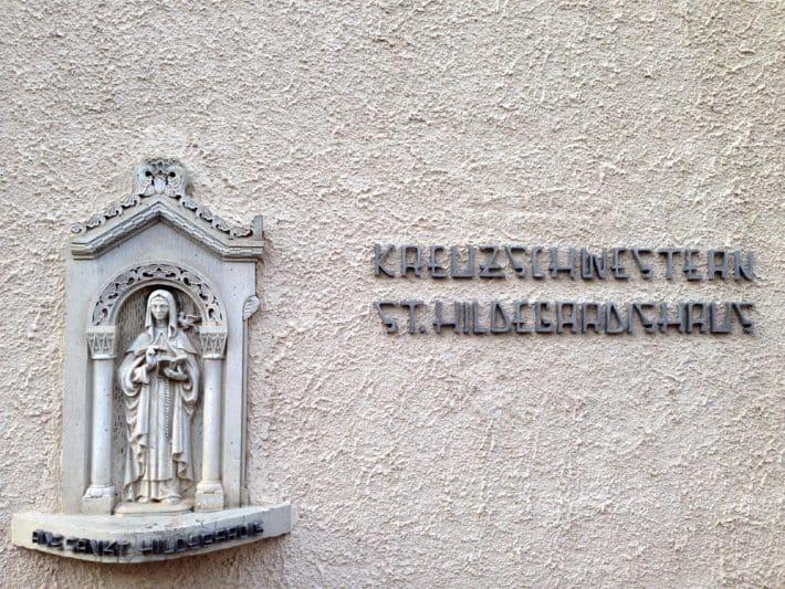Letzte Nacht in Bingen auf dem Hildegard von Bingen Pilgerwanderweg