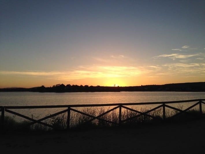 Sonnenaufgang auf der Via-de-la-Plata, Jakobsweg