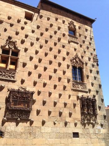 Muschelhaus Salamanca, Jakobsweg