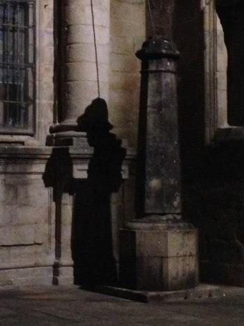 Silent pilgrim, Santiago de Compostela