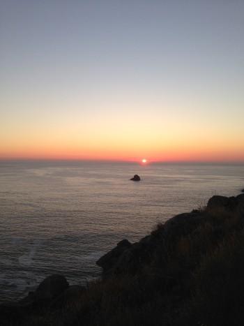 Sonnenuntergang Finisterre