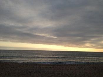 Hippie-Strand zum Sonnenuntergang, Finisterre
