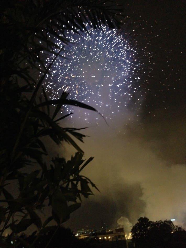 Feuerwerk Kings Birthday 05.12.2015