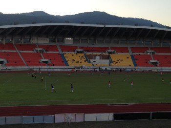 Tribüne Stadion FC Chiang Mai