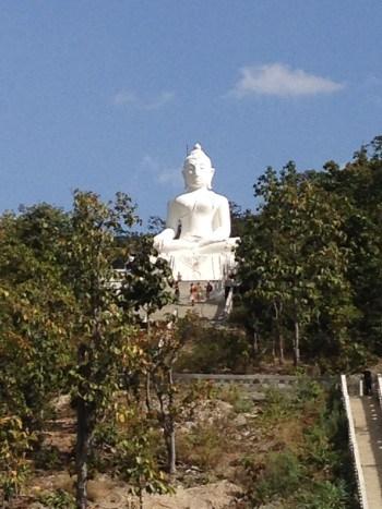 Weißt Buddha bei Pai