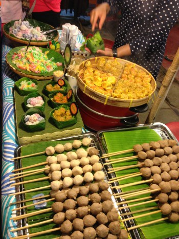 Nachtmarkt in Pai