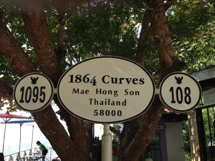 Kurven gibt es reichlich in Pai und Umgebung