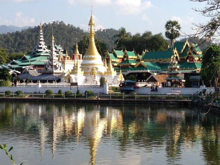 Tempel in Mae Hong Son