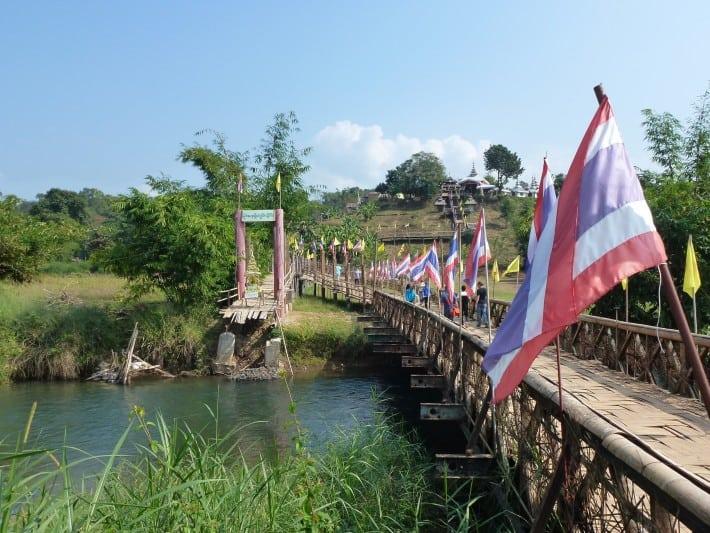 Bambusbrücke bei Mae Hong Son