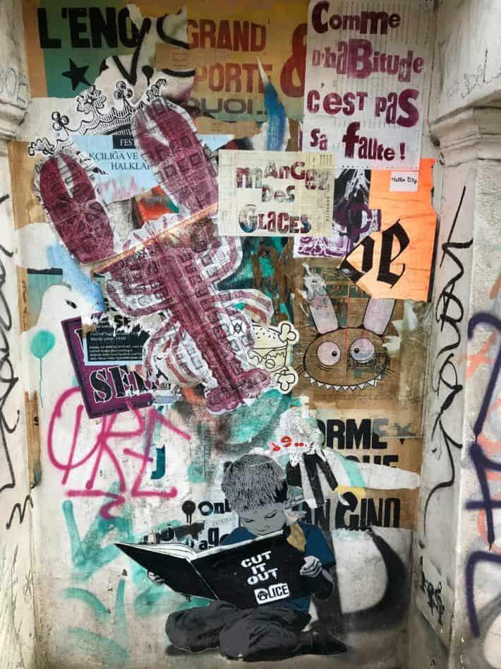 Streetart, Foto, Berlin, November 2017
