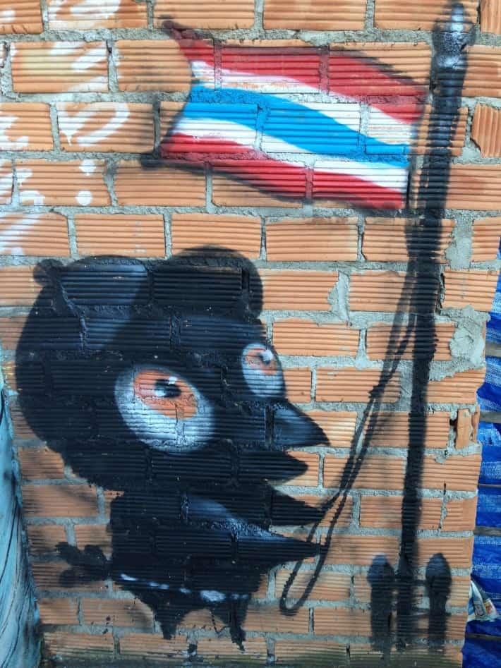 Streetart Chiang Mai, Dezember 2015