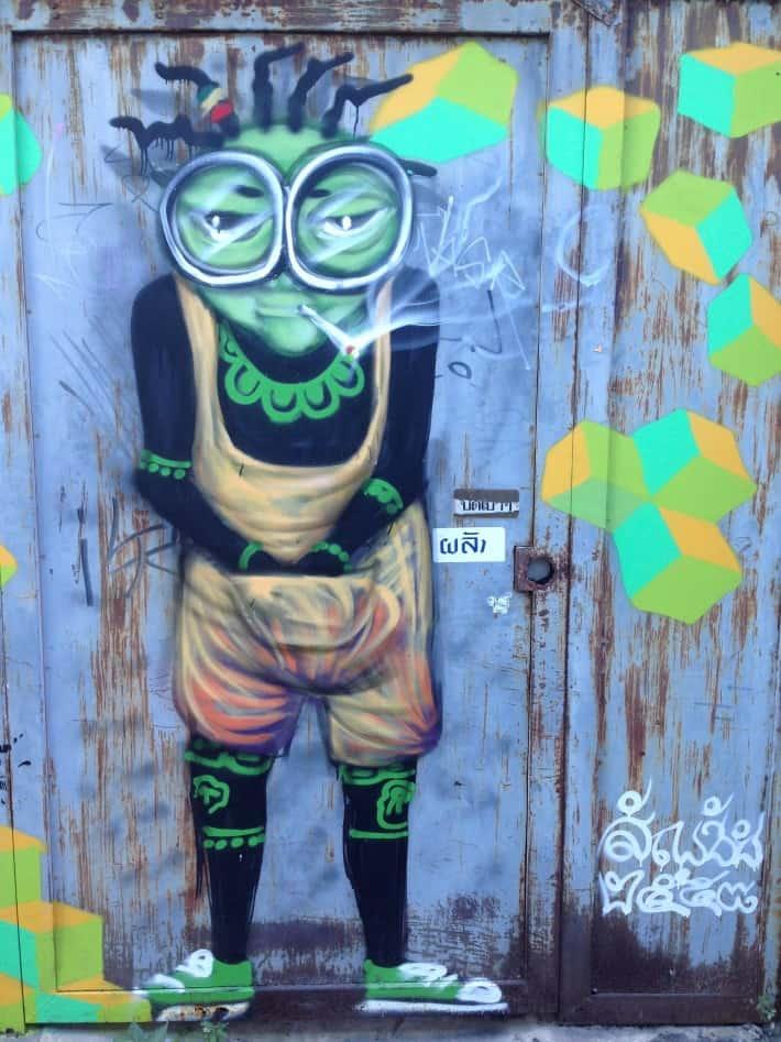 Streetart Chiang Mai Dezember 2015