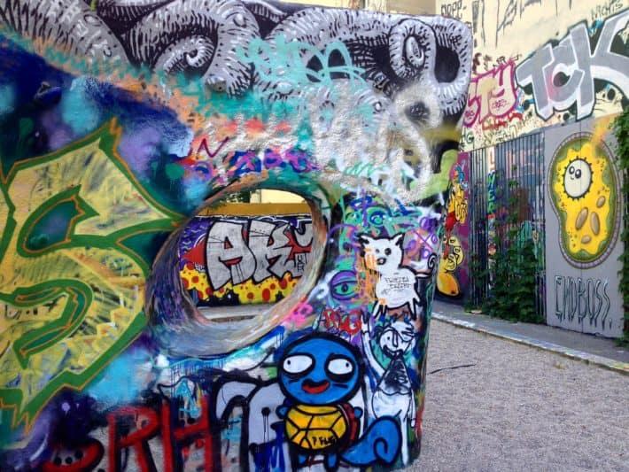 Streetart Berlin Hackesche Höfe