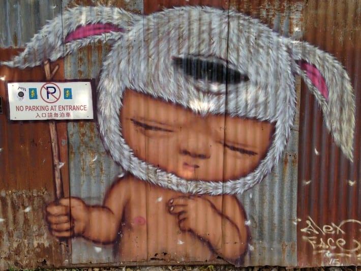 Streetart in Penang 02/2016