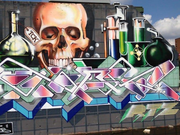 Streetart Berlin Juli 2016
