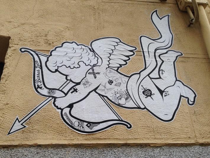 Streetart Madrid Juli 2016