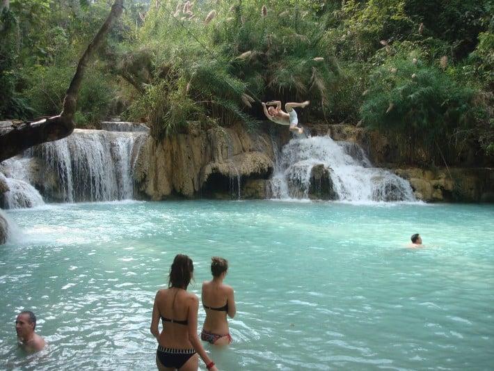 Wasserfall Luang Prabang