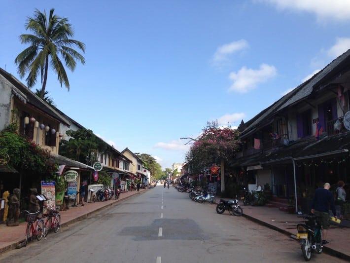 Hauptstraße Luang Prabang