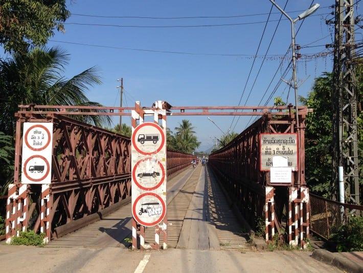 Brücke in Luang Prabang