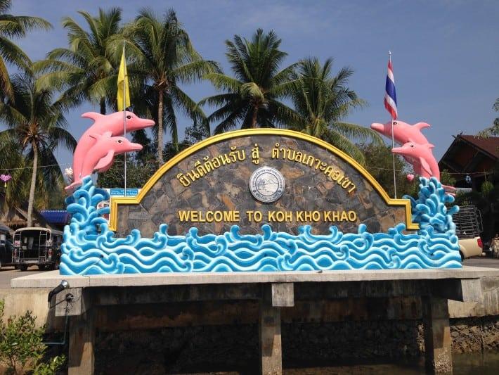 Willkommen oaf Koh Kho Khao