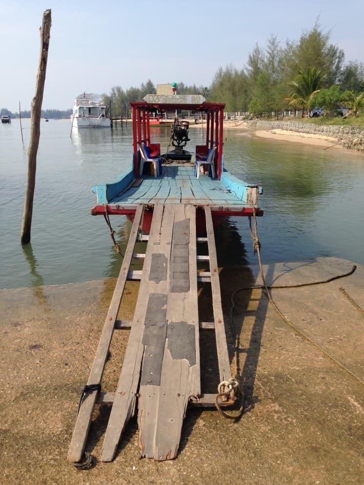 Überfahrt auf Koh Koh Khao