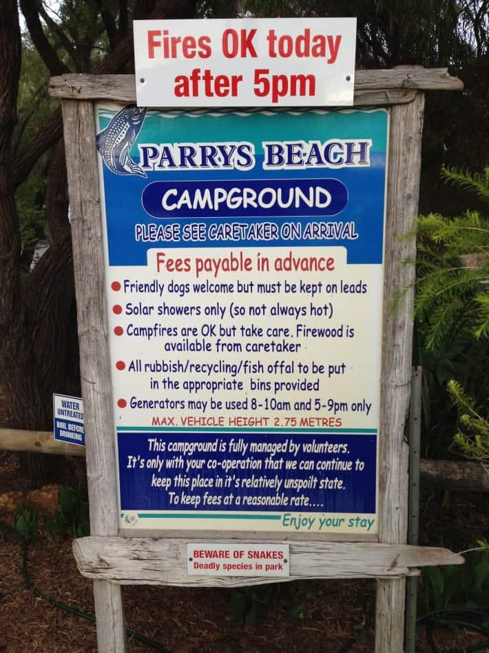 Paddy Beach Campground