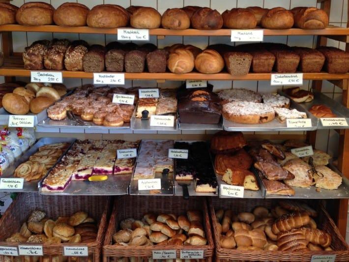 Angebot in der Bäckerei