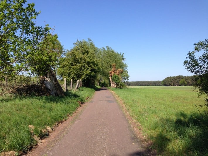 Weg nach Usedom