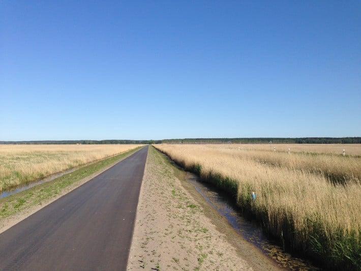 Auf dem Weg nach Pinnow