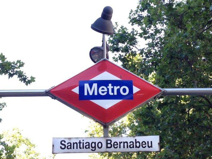Metro Santiago Bernabeu