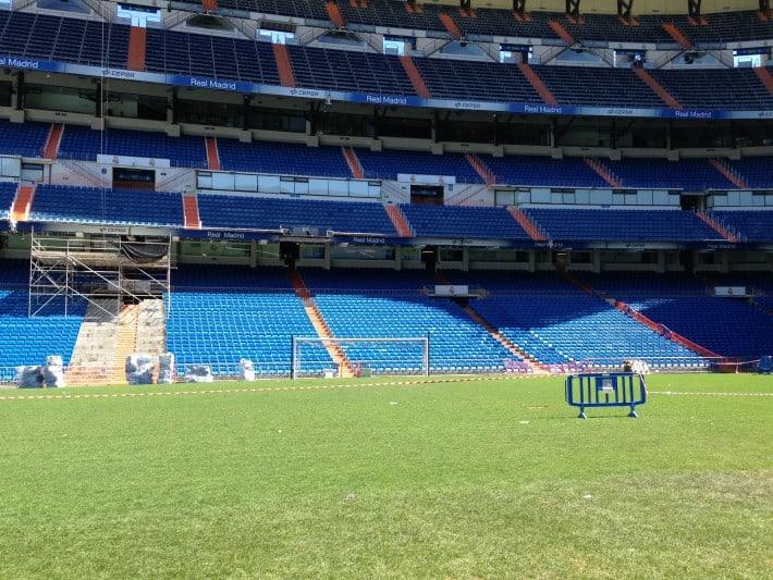 Spielfeld Real Madrid
