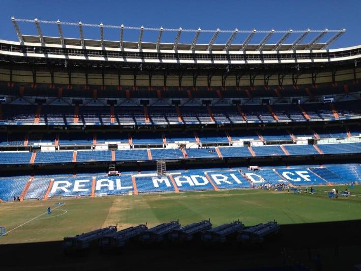 Santiago Bernabeu Stadion Madrid