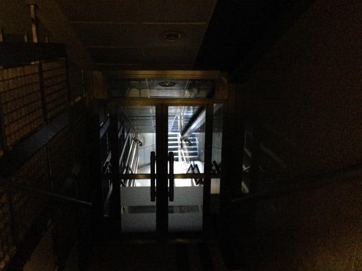 Spielertunnel Santiago Bernabeu Stadion