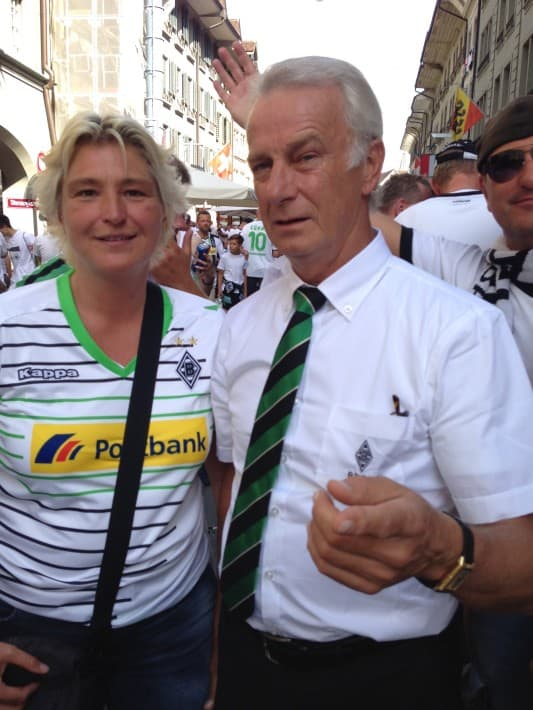 Bonhof und Annik in Bern