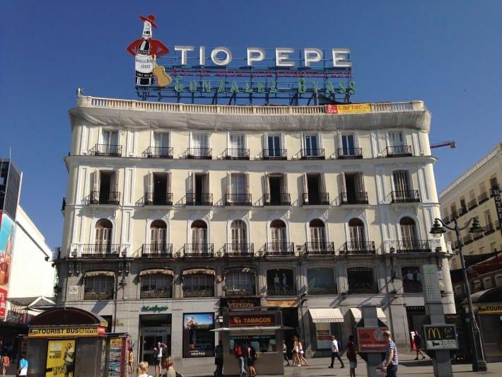 Puerta de Sol in Madrid