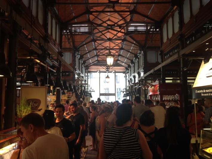 Markthalle in Madrid