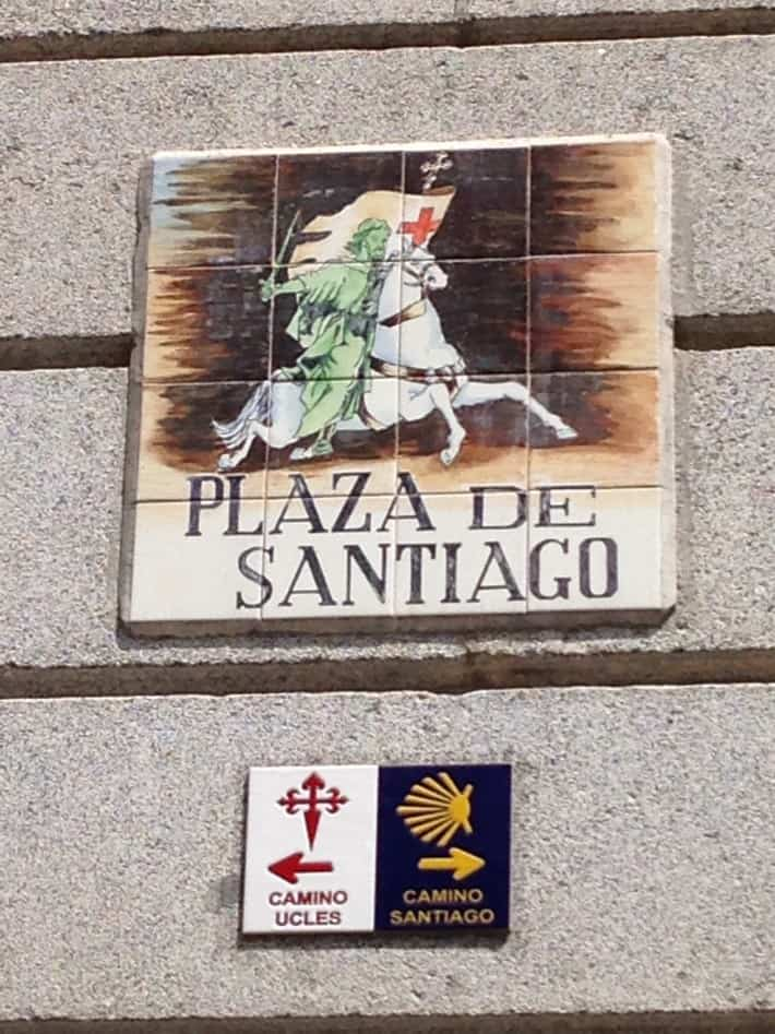Plaza de Santiago in Madrid