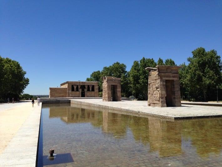 Ägyptischer Tempel in Madrid
