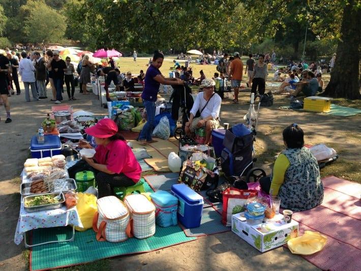 Thaiwiese im Preußenpark
